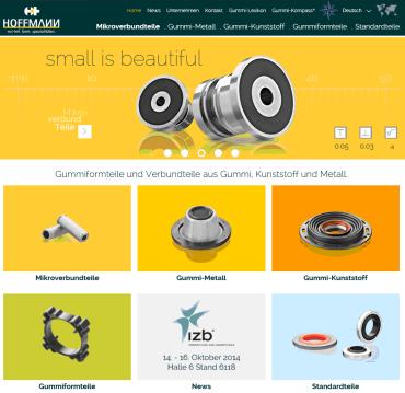 Hoffmann Relaunch Homepage