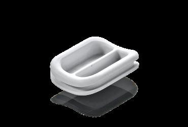 Gummiformteil: Abdeckung Zahnmedizin