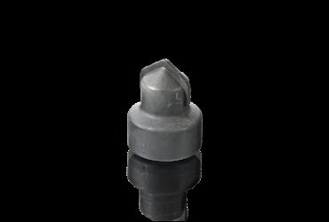 Dust emptying valve