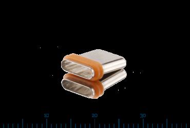 Steckerdichtung LSR-Metall