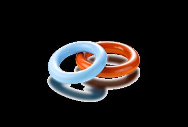 Gummiform Teile: Mutterringe